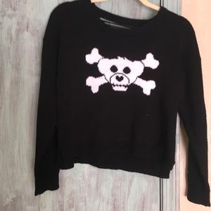 Hot Topic Ripped Back Sweater Worn Once